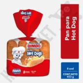 Pan Bimbo Para Hot Dog Bolsa X 8Und
