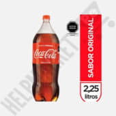 Gaseosa Coca Cola Botella X 2.25Lt.