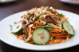 Salade à la Viande