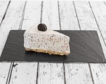 Tarta casera cheesecake Oreo