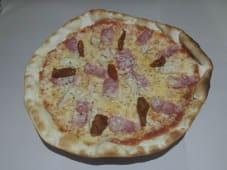 Pizza pollo braseado
