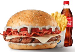 Menu Blue Burger (1 Carne)