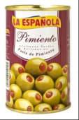 La Española aceituna pimiento 130g