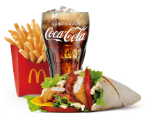 McMenú® McWrap® Chicken & Bacon