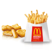 Happy Meal 4 Chicken McNuggets e Patatine