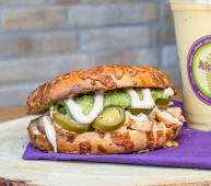 Bagel Spicy Chicken