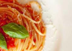 Macarrones / Spaghetti + Milanesa pollo + Patatas