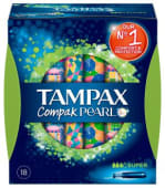 Tampax Compak Pearl Tampao aplic supx18