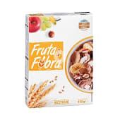 Cereal copos trigo integral frutas