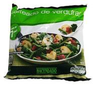 Salteado verduras ( judia verde, cebolla, pimiento rojo, champiñon Y brocoli )congelado