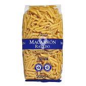 Macarron rayado pasta