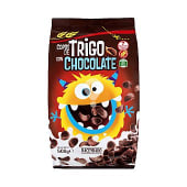 Cereal copos trigo chocolate