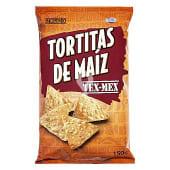 Aperitivo triangulo maiz tex mex