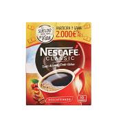 Café soluble descafeinado classic