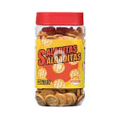 Galletitas saladas redondas