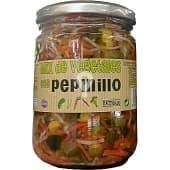 Mix de vegetales con pepinillo (zanahoria,apio,maiz,pimiento) conserva