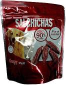 Comida perro salchicha carne