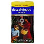 Cafe molido descafeinado mezcla Nº4