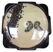 Tarta blanca 6 raciones (redonda) pasteleria congelada (cobertura blanca con relleno sabor a nata y a cacao)