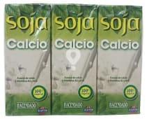Bebida soja natural calcio