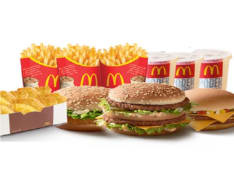 McMenus + 2 McMenu Grande + ShareBox 10 Chicken McNuggets