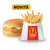 Happy Meal Chickenburger e Patatine