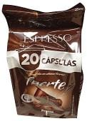 Café cápsula (compatible con cafetera sistema nespresso) fuerte
