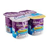 Yogur bifidus desnatado cremoso natural edulcorado