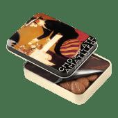 Hojas Chocolate con Leche Lata 60g