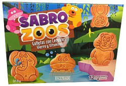 Galleta sobrozoos  (galleta forma de animales con cereales)