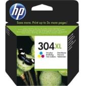 HP Cartuccia d'inchiostro Tricromia 304XL, ciano, magenta, giallo