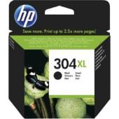 HP Cartuccia d'inchiostro 304XL, nero