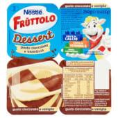 Nestlé, Nestlè, Fruttolo Dessert gusto cioccolato e vaniglia conf. 4x62,5 g