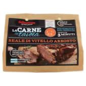 Delicatesse La Carne in tavola reale di vitello arrosto