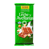 Chocolate leche avellanas