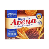 Galleta digestive avena chocolate