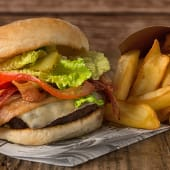 HAMBURGUESA DOBLE BACON