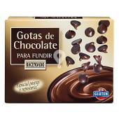 Gotas de chocolate para fundir