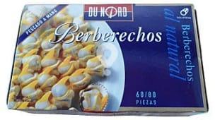 Berberechos natural s (60/90 piezas)