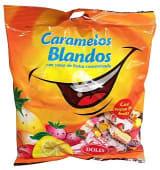 Caramelo blando con zumo frutas