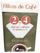 Filtros cafe Nº 4