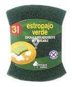 Estropajo esponja verde