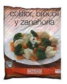 Brocoli,coliflor y zanahoria congelado