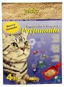 Arena gato aglomerante perfumada