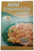 Empanadillas congeladas atún mini