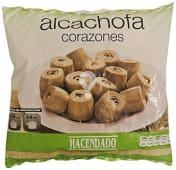 Alcachofa corazones congelada