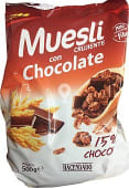 Cereal muesli crujiente chocolate