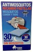 Insecticida eléctrico pastillas recambio mosquitos