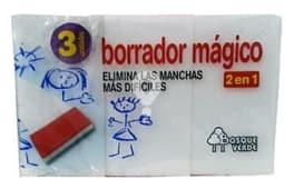 Esponja borrador magico