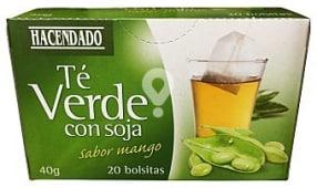 Infusión té verde con soja sabor mango